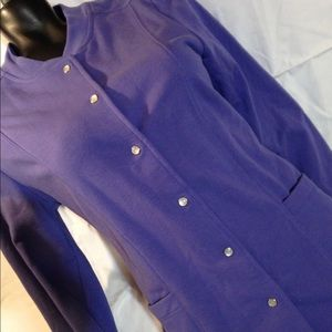 THE TOG SHOP PURPLE SIZE PETITES SMALL